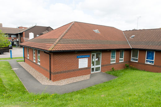 George Eliot Hospital clinic