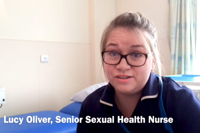 Sexual health nurse role